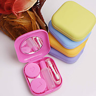 1 pc pocket mini contactlens travel case kit spiegel container hoge kwaliteit leuke draagbare