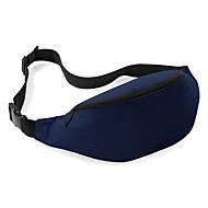 Unisexe Polyester Des sports Extérieur Utilisation Professionnelle Sac Banane Bleu ciel Bleu de minuit Gris Violet Jaune