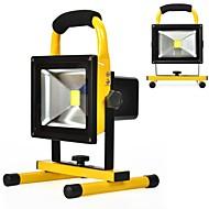 Kawell 20w spotlights arbeidslys vanntett utendørs camping sikkerhetsbelysning innebygd oppladbare litium batterier daylight hvit 6000k