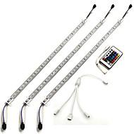 21W W סרטי תאורת LED קשיחים lm DC12 1.5 מ ' 90 נוריות RGB
