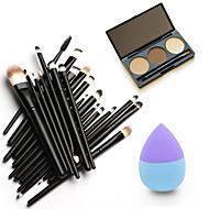 1 Sobrancelha Esponja de Pó de Arroz/Esponja de Maquiagem Pincéis de Maquiagem Secos Cara Olhos Lábios Outro China