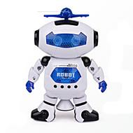 Raum Tanzmusik Infrarot Elektro Roboter Spielzeug 360 Grad drehen Lichter