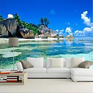 Art Deco 3D Behang voor thuis Modern Behangen , Canvas Materiaal lijm nodig behang , Kamer wandbekleding