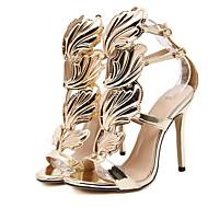 Femme-Habillé--Talon Aiguille-club de Chaussures-Sandales-Polyuréthane