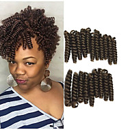 Afro Kinky Materiale de prelucrare Croșetat Buclat bouncy Curl Păr 100% kanekalonNegru / Strawberry Blonde Black / Medium Auburn Negru /