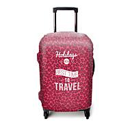 Reisekofferabdeckung für Koffer Accessoires Polyester-Pink-violett