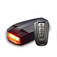 Ciclismo Controle Remoto Prova-de-Água Recarregável alarme USB Lumens USB Vermelho Ciclismo Multifunções Exterior