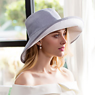 Cotton Flax Headpiece-Wedding Special Occasion Casual Office & Career Hats 1 Piece