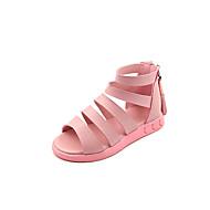 Djevojčice Sandale Ljeto Udobne cipele Gladijatorke Umjetna koža Aktivnosti u prirodi Ured i karijera Ležeran Zabava i večerRavna