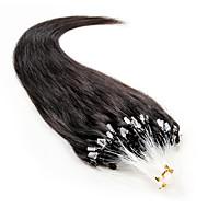 100s brazilian remy ludzkie włosy 20 inch mikro pętli włosów rozszerzenia jedwabiście proste ludzkie włosy mikro pierścienie łącza włosów