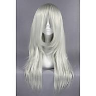 Средний бакуман локон серебряный белый аниме 26inch костюмированная игра парик cs-162e