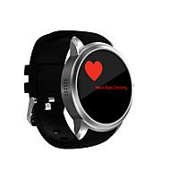 Du menn smart klokke android smart klokke iqi x200 support 2g wifi gps hjertefrekvensmåler med 1,39 tommers amoled skjerm 512mb ram 8gb