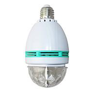 LED Sahne Işıkları Sihirli LED Işık Topu Parti Disko Kulübü DJ Show Lumiere LED Kristal Işık Lazer Projektör 3W - - - Otomatik Strobe