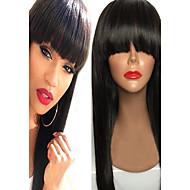 Πρεμιέρα περούκες δαντελλών δαντέλα μπροστά μαλλιά περούκες πλήρη δαντέλα ή glueless πλήρες περούκες δαντέλα σε φυσική ευθεία με κτύπημα