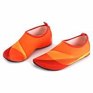 Sapatos para Água Não são necessárias ferramentas Mergulho e Snorkeling Natação Lycra Borracha Laranja Azul