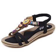 Sandaalit-Tasapohja-Naiset-PU--Toimisto Rento Puku-Comfort Valopohjat