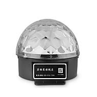 LED-Floodlights Magic LED Light Ball Party Disco Club DJ Toon Lumiere LED Crystal Light Laser Projector 18W - - -Geactiveerd op geluid