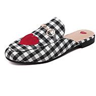 Dame-PU-Flat hæl-Komfort-Tresko & Tøfler-Fritid-