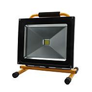 Hkv® 1pcs 50w 4850-4950lm luz portátil carregável luz de inundação luzes de emergência levou holofote ac 85-265v