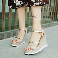 Kényelmes Club cipő-Parafa-Női-Szandálok-Ruha Alkalmi-Bőrutánzat-