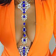 Dámské Tělové ozdoby Kovový pás Tělo Chain / Belly Chain Náhrdelník na břicho Módní Retro Bohemia Style Ručně vyrobeno Duhová turečtina