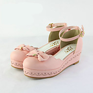 Hátsó pántos-Vastag-Női-Vitorlás cipők-Alkalmi-PU-
