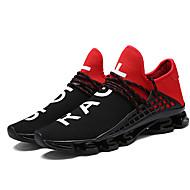 Urheilukengät-Matala korko-Unisex-Tyll-Musta Musta/Punainen Musta/valkoinen-Ulkoilu Rento Urheilu-Comfort Valopohjat pari Kengät