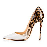 Feminino-Saltos-Sapatos clube-Salto Agulha--Couro Ecológico-Casamento Escritório & Trabalho Social Festas & Noite