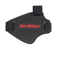 herobikerオートバイのシフトギアセットはブロックゴムシューズシフトギアのパッドが靴カバー1個を置くセット