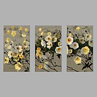 Ručně malované Lidé Horizontálně,Moderní Tři panely Plátno Hang-malované olejomalba For Home dekorace