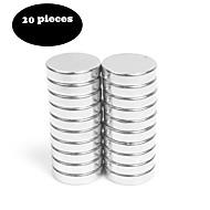 20pcs12x3 pinceaux magnétiques nickel brossé aimant bonus - aimants de réfrigérateur aimants de bureau aimants à panneaux effaçables secs