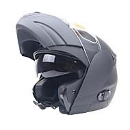 ライダーのお気に入りのオートバイのヘルメットとブルートゥースデバイスダブルバイザーシステムのフリップアップヘルメットクルーザーツーリングバイクヘルメット