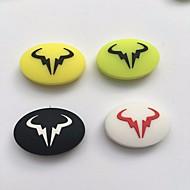 Zece bucăți roger federer tenis rachetă amortizor de șoc pentru a reduce tenis rachetă vibrații amortizoare raqueta tenis