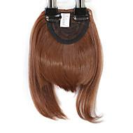 Neitsi 1pcs 8 '' 25g / pc auf Haar Franse kurzes gerade synthetisches Haar in Clip Pony 30 #
