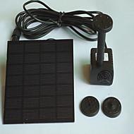 수족관 워터 펌프 모형 스위치 포함 조절 가능 무소음 태양열 무독성&무미 플라스틱 1.4W(110)V