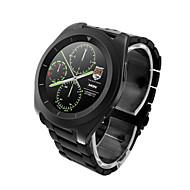 g6 mtk2502超薄型ipsスクリーンステップレート心拍数監視メタルストラップbluetooth smartwatch for android&アイオス