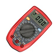 Uni-t ® ut33b אוטומטי טווח דיגיטלי multimeter ac מתח גלאי נייד ohm / וולט הבדיקה מטר בודק רב עם תאורה אחורית lcd