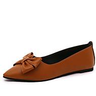 -Для женщин-Для прогулок Для офиса Повседневный-Полиуретан-На плоской подошве-Светодиодные подошвы Удобная обувь-На плокой подошве