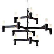 Lustry ,  moderní - současný design Tradiční klasika Galvanicky potažený vlastnost for Mini styl návrháři KovObývací pokoj Ložnice