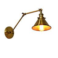 Qsgd ac220v-240v 4w e27 ledet lys swall lys ledet vegg sconces vegg jern vegg lampe dum svart lightsaber lampe på veggen europe og USA