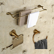 Fürdőszoba tartozék szett / Antik sárgarézSárgaréz /Neoklasszikus