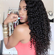 Premierwigs Big Curly Human Lace Front Wigs 8A Brazilian Virgin Human Hair Lace Front Wig Natural Color Unprocessed Virgin Brazilian Hair Wigs