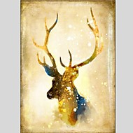 Oil Paintings  Giraffe Style Canvas Material With Wooden Stretcher Ready To Hang Size60*90CM and 50*70CM .