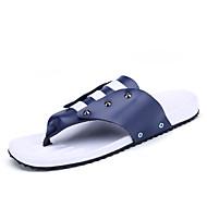 Muške Papuče i japanke Cipele za vodu Udobne cipele Salonke s remenčićem Svjetleće tenisice Koža Mikrovlakana Proljeće Ljeto Kauzalni