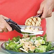 1 Pças. Scissor For Fruta Vegetais Para utensílios de cozinha Plástico Aço Inoxidável Alta qualidade Gadget de Cozinha Criativa