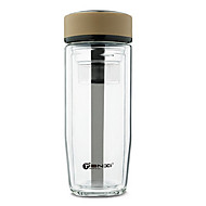 Doppelwand Business Glas Tasse 350ml