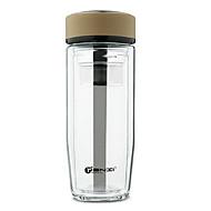 Dobbelt vegg virksomhet glass kopp 350 ml