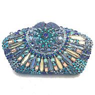 nők este tengelykapcsoló táskák kézzel magas minőségű kristályok