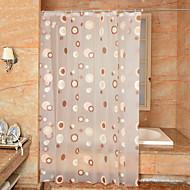 Contemporânea PEVA  -  Alta qualidade Cortinas de Banheiro