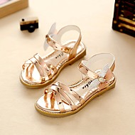 Para Meninas Sandálias Conforto Sapatos para Daminhas de Honra Solados com Luzes Courino Verão Outono Social CaminhadaConforto Sapatos